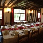 Dining Room in 16th Century Grade 2 Listed Building.