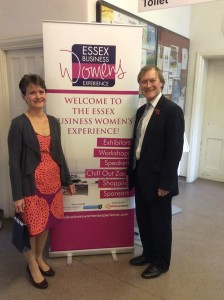 Essex Lady Rosemary Cunningham with Sir David.