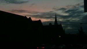 Crostone Church - Sundown
