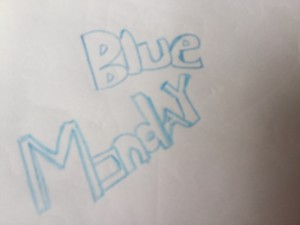 Blue Monday, is it really blue?